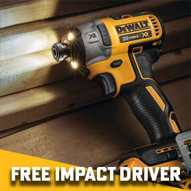 DeWalt Buy 2 Bare Tools Get A Free Impact