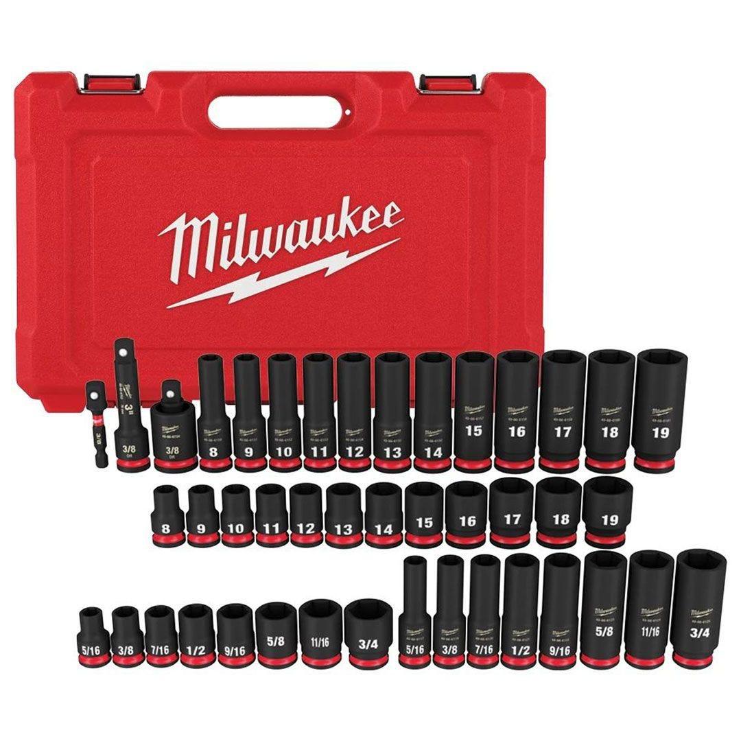 Milwaukee Shockwave Impact Socket Sets