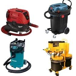Vacuums & Dust Collectors - Wet/Dry, Slurry, HEPA