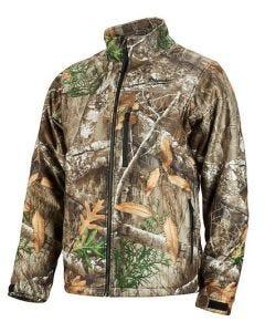 Milwaukee M12 Heated QuietShell Jacket 3X RealTree Camo - Jacket Only 222C-203X