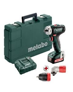 Metabo 12V PowerMaxx BS 12 Q Drill/Driver Installation 3-In-1 Kit (2.0Ah) 601037620