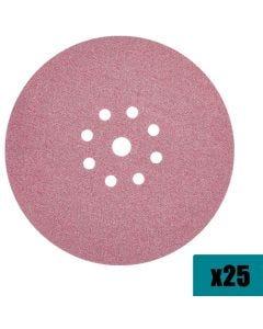 """Makita 9"""" Drywall Hook & Loop 120 Grit Sanding Discs (25 Pack) B-68557"""""""