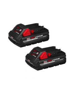 Milwaukee M18 REDLITHIUM HIGH OUTPUT CP3.0 Battery 2-Pack 48-11-1837
