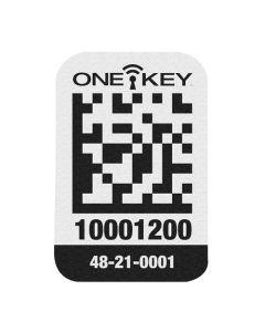 Milwaukee ONE-KEY Asset ID Tag Small Plastic Surface (200 Piece) 48-21-0001