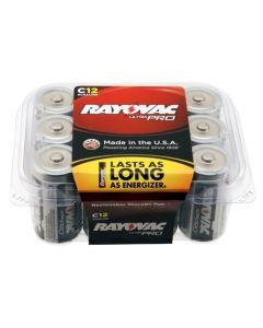 Rayovac UltraPro Alkaline C Contractor Batteries (12 Pack) 620-ALC-12PPJ