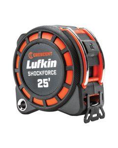Lufkin Shockforce 25' x 1-3/16 Dual Sided Tape Measure L1125