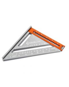 """Crescent EX6 2-in-1 Extendable Rafter Square 6 to 12"""" Straight Edge LSSP6-07"""