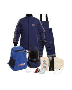 NSA ArcGuard Performance 40 cal Jacket & Bib Kit w/ Lift Front Hood & Voltage Gloves (5X-12) ARC40KIT-5X12