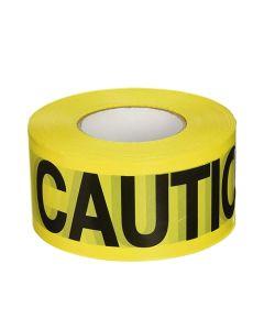 C.H. Hanson 1000 ft. 5 Mil Caution Caution Yellow Barricade Tape 16000