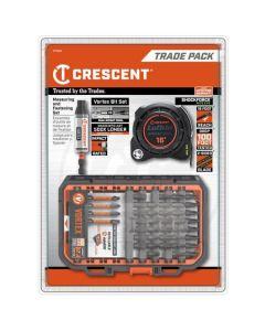 Crescent 42PC. Vortex Bit and Shockforce Nite Eye Tape Trade Pack CTTBHAP