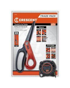 Crescent 2PC. Shockforce Nite Eye Roofing & Flooring Set CTTSHAP
