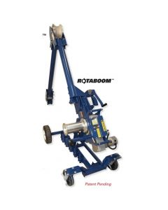 Current 10;000 Lb. Two Speed Cable Puller with Carriage Model 100