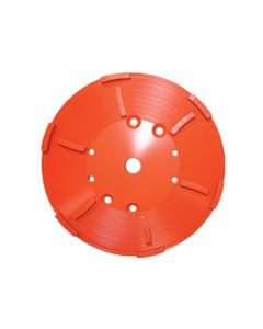 Diamond Products 8 Floor Grinding Head 12 Segment GHH9 Hard Non-Abrasive Material 03330