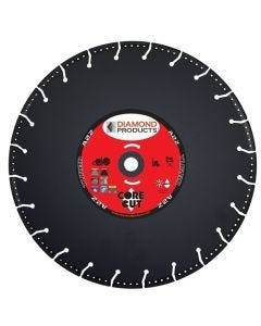 """Diamond Products A2Z Specialty Metal Cutting Blade 14 X 1.25 - 1"""" Arbor 21571"""