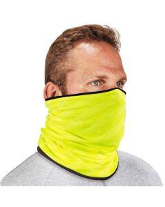 Ergodyne N-Ferno 6491 Reversible Thermal Multi Band Fleece / Polyester Hi-Vis Lime 42320