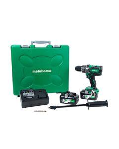 Metabo HPT MultiVolt 36V Brushless 1/2 Hammer Drill (4.0Ah x 2) Kit DV36DAM