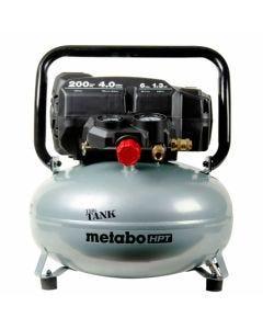 Metabo HPT Oil-Free 6-Gallon High Capacity Pancake Air Compressor 4.0CFM EC914SM
