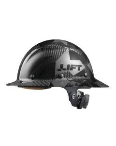 Lift DAX Carbon Fiber Full Brim Hard Hat (Black Camo) HDC-20CK