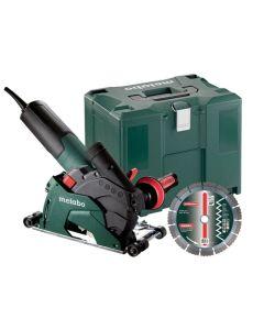 Metabo T 13-125 CED 5 Masonry Cutting Tool - 9;600 RPM - 12.0 Amps - w/ Lock-on; Shroud w/ Roller Base 600431680