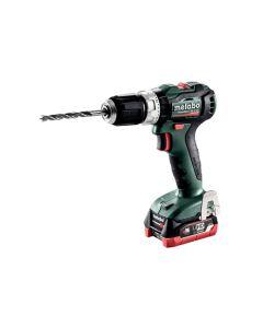 Metabo 12V PowerMaxx Compact Brushless Hammer Drill/Driver kit 2x 4.0Ah LiHD SB 12 BL 2x 4.0 601077520