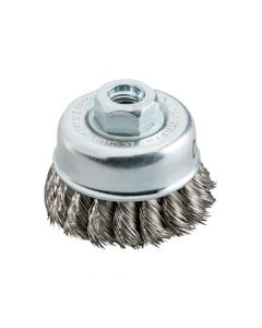 Metabo Cup Brush 65x0.5 MM / 5/8; Steel; Knotted 623804000
