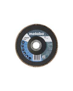 "Metabo 6"" Flapper Plus 60 Grit 7/8"" T29 Fiberglass 629423000"