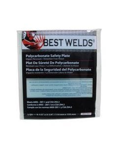 """Best Welds 4.5 x 5.25"""" Clear Lens Safety Plate 932-442"""