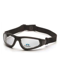 Pyramex Clear +2.0 H2X Anti-Fog XSG Reader Lens With Black Strap/Temples GB4010STR20