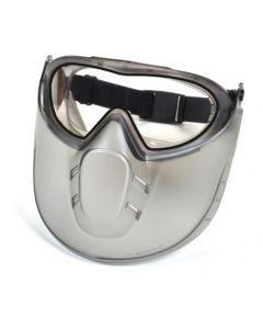 Pyramex Capstone Clear Anti-Fog Dual Lens w/ Clear Shield GG504DTSHIELD