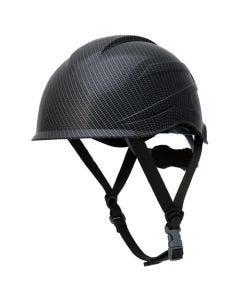 Pyramex Ridgeline XR7 Climber Style Hard Hat 6 Point Matte Black Graphite HP76117