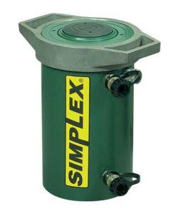 "Simplex 100 Ton Double Acting H-Duty 12"" Stroke Cylinder RDA10012"