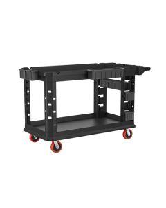 """Suncast Commercial 26.5 X 58.78"""" - Heavy Duty Plus Utility Cart PUCHD2654"""